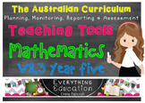 Australian Curriculum Mathematics v8.3 Year 5 Teacher Tools