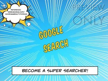 Australian Digital Technologies - Become A Super Searcher!