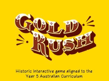 Australian Gold Rush Interactive Game