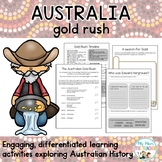 The Australian Gold Rush Activity Unit