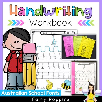 Australian Handwriting Worksheets - Lower Case & Upper Cas