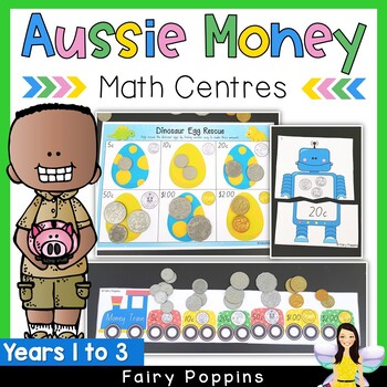 Australian Money Games, Puzzles and Activity Pack