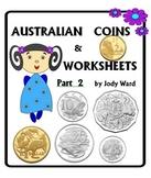 Australian Money Part 2 Australian Coins 5c -$2