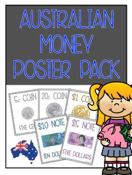 Australian Money Poster Pack