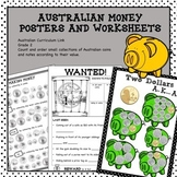 Australian Money Posters and Worksheets Higher Order Think