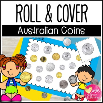 Australian Money Roll & Cover! Hands on fun to practice co