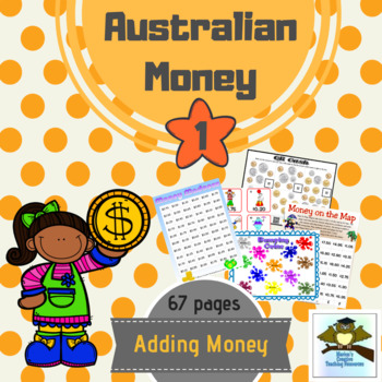 Australian Money Pack ~ Adding Money {11 Games & Centre Ac