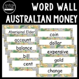 Australian Money - Word Wall Math Vocabulary Cards