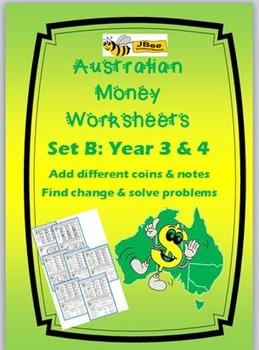 Australian Money Worksheets Year 3 & 4