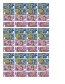Australian Notes for copying