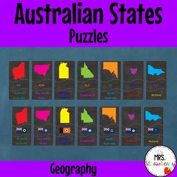 Australian States Puzzle