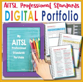 Australian Teachers -  AITSL Standards Portfolio Organiser