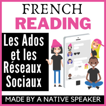 Authentic French francais text and questions Technology un