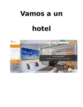 Authentic Hotel Website Interpretive Activity