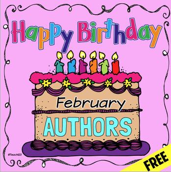 Author Birthdays February