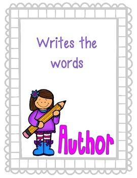 Author & Illustrator Poster