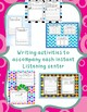 Author Study - 7 Instant Listening Center Pack - QR Coded