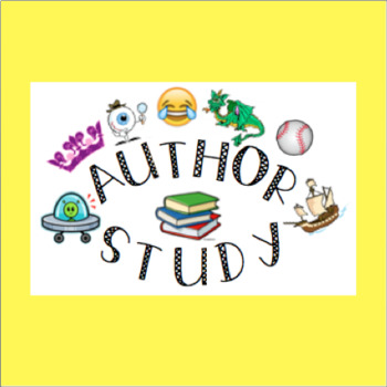 Author Study Project Guide - Editable