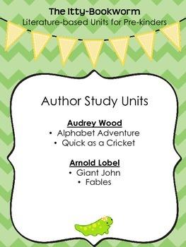 Author Study Units ~ Audrey Wood and Arnold Lobel