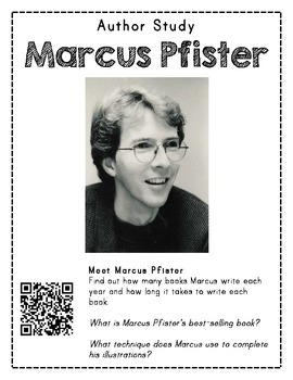 Author Study with QR Codes - Marcus Pfister