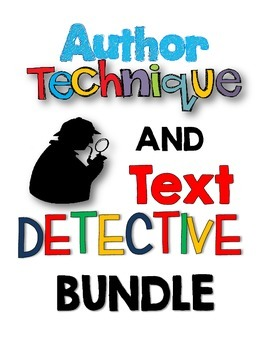 Author Technique & Close Reading Bundle