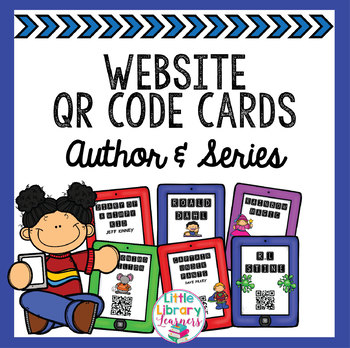 Author Website QR Code Cards