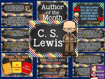 Author of the Month C.S. Lewis