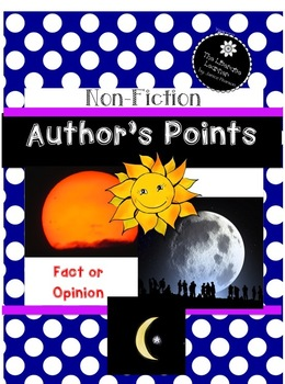 Author's Point Close Reading 2nd and 3rd Grade