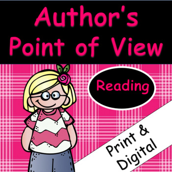 Author's Point of View: Passages and Comprehension Printables