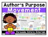 Author's Purpose Interactive Game {Grades 1 - 3}