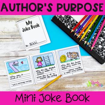 Author's Purpose Mini Joke Book