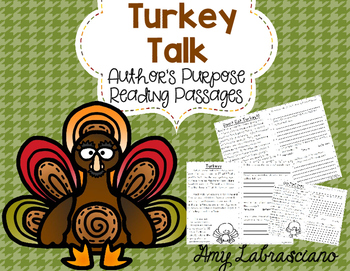 Fall Author's Purpose Reading Passages
