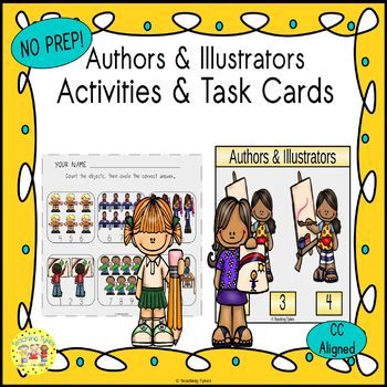 Authors and Illustrators Worksheets Activities Games Print