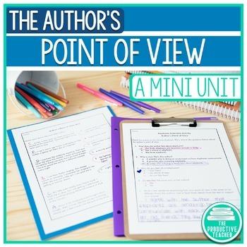 Author's Point of View Mini-Unit
