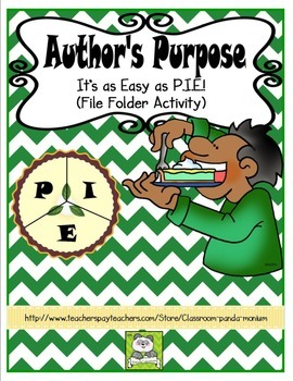 Author's Purpose File Folder Activity (CC Aligned)