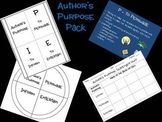 Author's Purpose Foldable & Resources
