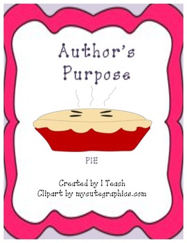 Author's Purpose-PIE