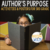 Author's Purpose Posters and Activities Pack