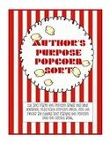 Author's Purpose Popcorn Sort