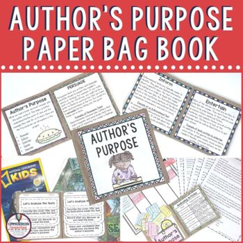 Author's Purpose Sorting Practice