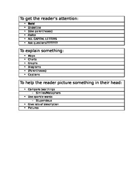 Author's Purpose Study Guide