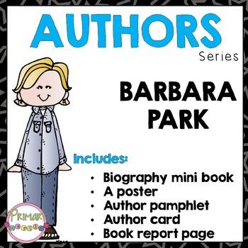 Author Study - Barbara Park