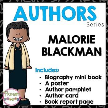 Author Study - Malorie Blackman