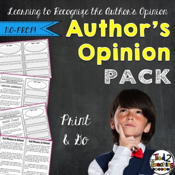 Author's Viewpoint - Discerning the Opinion Behind the Text