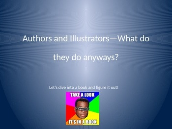 Authors and Illustrators