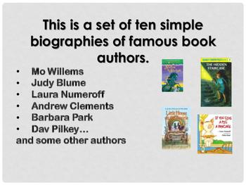 Authors we love!