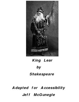 Autism Adapted Novel (PDF Color)  King Lear
