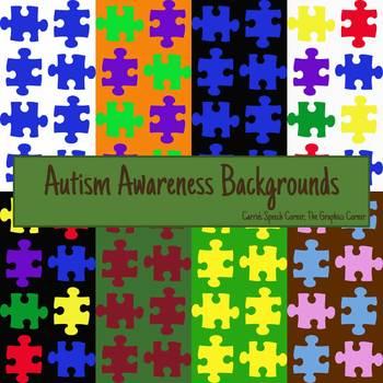 Autism Awareness Backgrounds