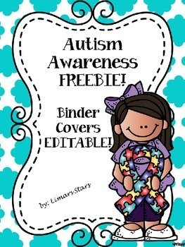 Autism Awareness FREEBIE!