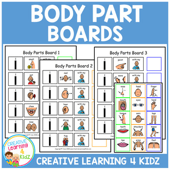 Body Part Boards